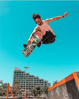 Photographie d'un Skater Felipe Parucker, Pexels