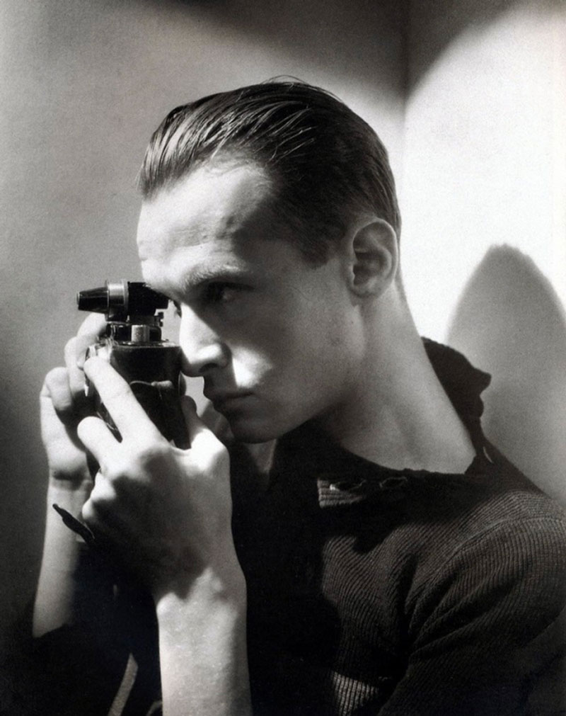 Portrait d'Henri Cartier-Bresson