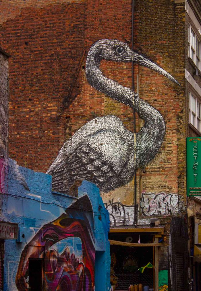 Photograph - Street art in Shoreditch