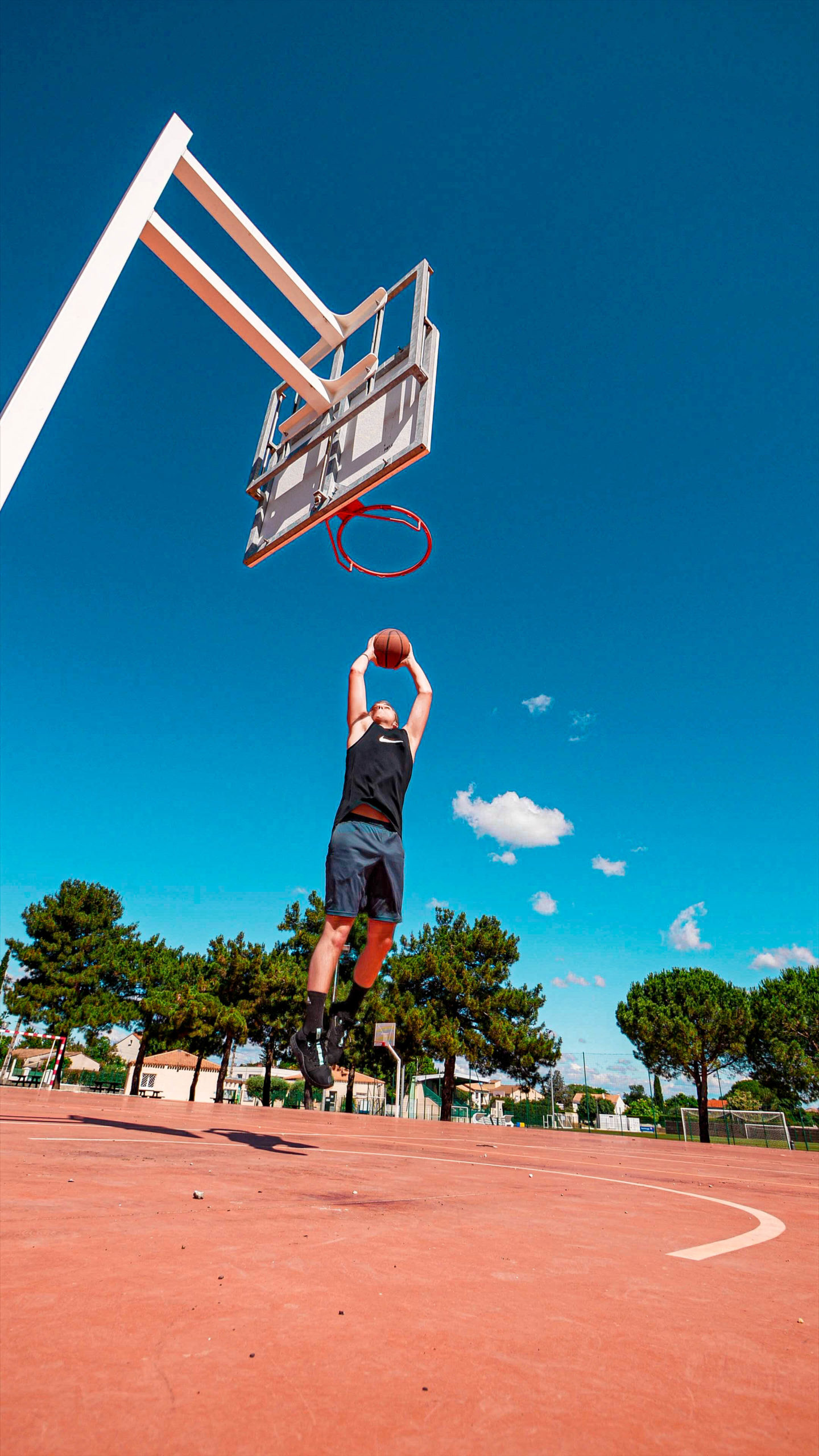 Photograph of a basket player - Nicolas Tauzin