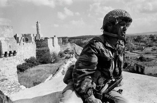 Photographie de Gilles Caron_Guerre des 6 jours Israël 1967