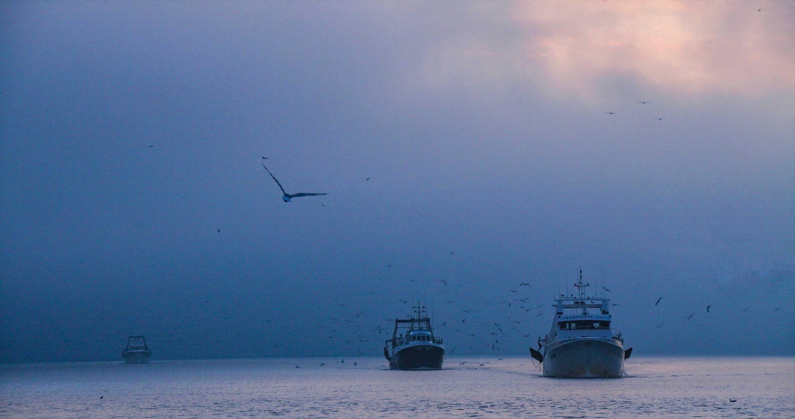 Trawler-Foto bearbeitet mit HDRinstant