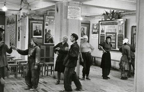 Arbeiterkantine, Moskau 1951. © Henri Cartier-Bresson, Magnum Photos.Leihgeber: Family Office Sozietät PariterFortis, München.