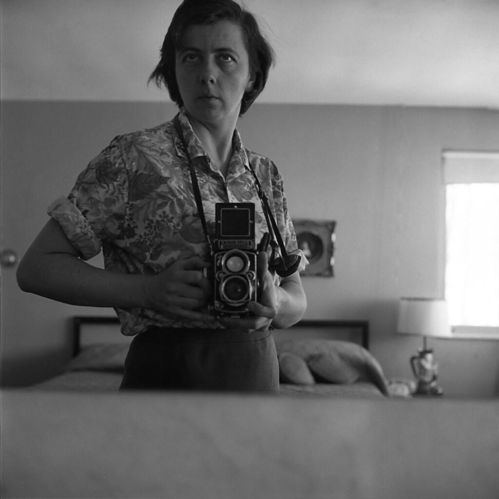 Photographie de Vivian Maier, Selfie Photo, Vivian Maier Prints Inc., The Jeffrey Goldstein Collection